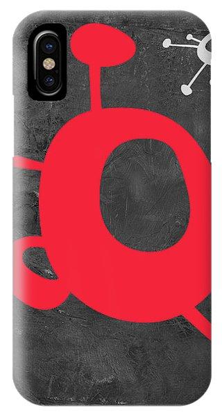 Century iPhone Case - Abstract Splash Theme Xi by Naxart Studio