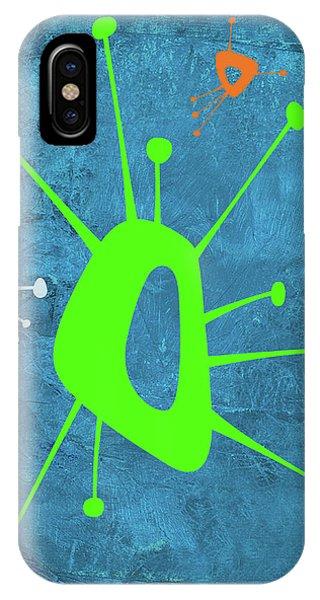 Century iPhone Case - Abstract Splash Theme Xxi by Naxart Studio