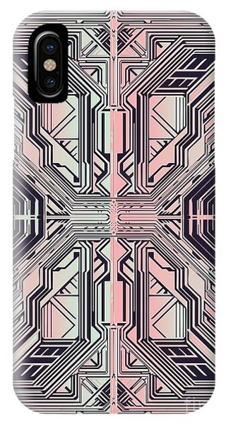 Technological iPhone Case - Abstract Tech Background,vector by Gudron