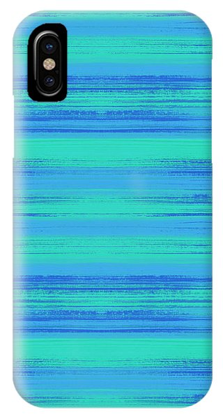 Abstract Vibrant Beach Background IPhone Case