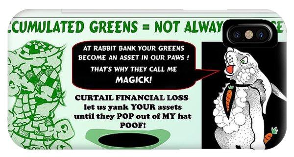Accumulated Greens IPhone Case