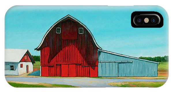 Whidbey iPhone Case - Across From The Drive-in by Stacey Neumiller