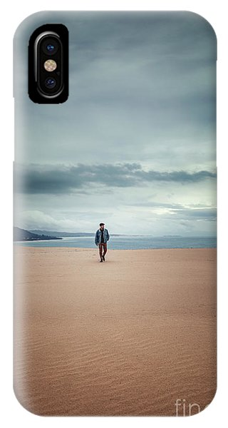 Desolation iPhone Case - Across The Sands Of Time by Evelina Kremsdorf
