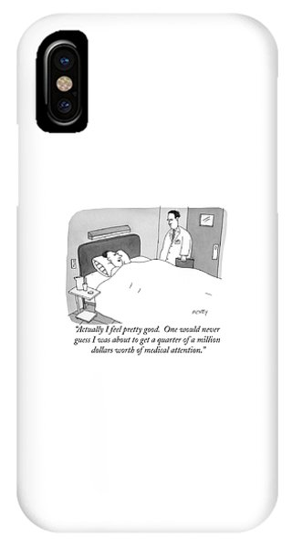Actually I Feel Pretty Good IPhone Case
