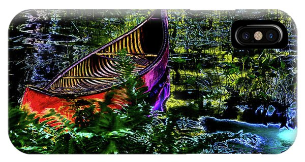 IPhone Case featuring the photograph Adirondack Guide Boat by David Patterson