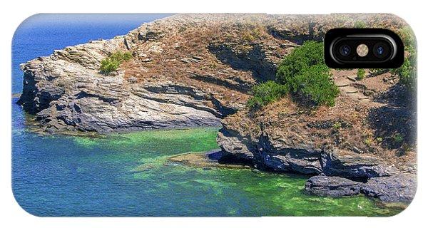 Aegean Coast In Bali IPhone Case