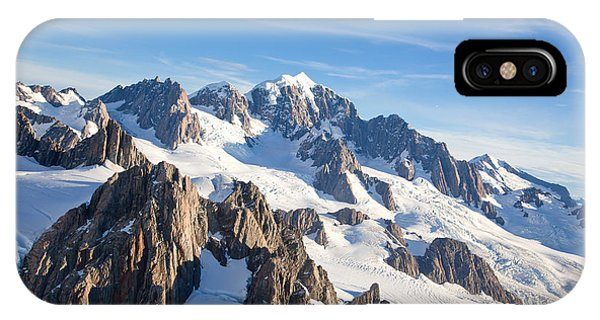 Beautiful iPhone Case - Aerial View Landscape Of Mountain Cook by Vichie81