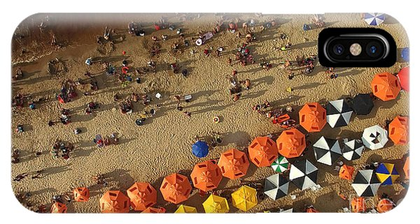 South America iPhone Case - Aerial View Of Beach In Rio De Janeiro by Esb Professional