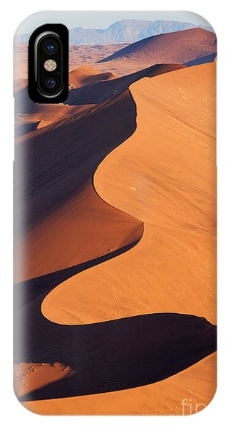 Airplanes iPhone Case - Aerial View Of The Namib Desert by Orxy