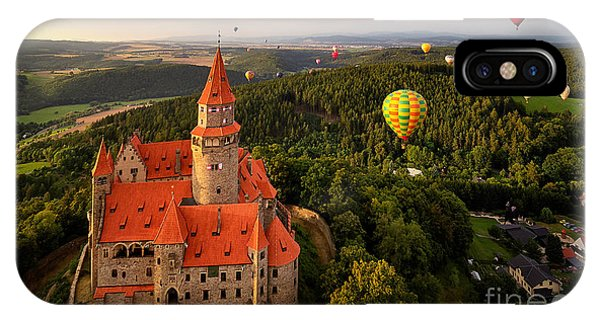 Fairy iPhone Case - Aerial View On Romantic Fairy Castle by Martin Mecnarowski