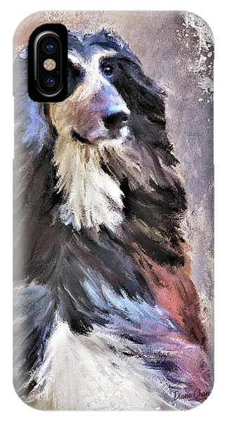 Afghan Hound IPhone Case