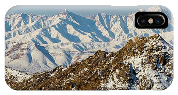 IPhone Case featuring the photograph Afghanistan Hindu Kush Snowy Peaks by SR Green