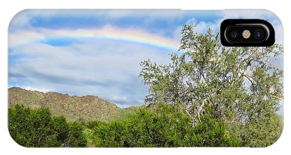 After An Arizona Winter Rain IPhone Case