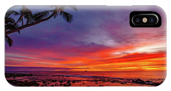 After Sunset Vibrance IPhone Case