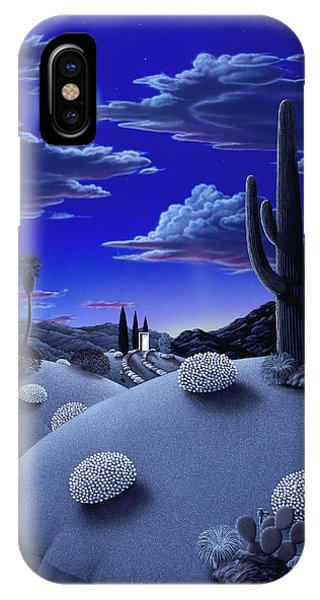 Cactus iPhone Case - After The Rain by Snake Jagger
