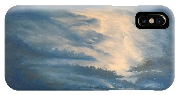 IPhone Case featuring the painting After The Storm by Kevin Daly
