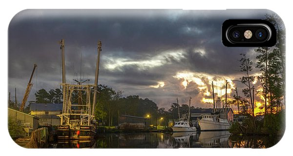 IPhone Case featuring the photograph After The Storm Sunrise by Cindy Lark Hartman