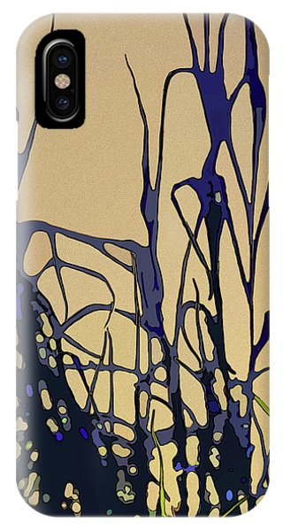 IPhone Case featuring the digital art Afternoon Shadows by Gina Harrison