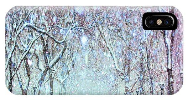 Purple Rain iPhone Case - Afternoon Walk by Tim Palmer