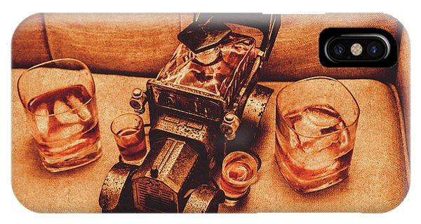 Liquor iPhone Case - Aged Since 1918 by Jorgo Photography - Wall Art Gallery