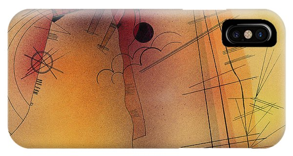 Illusion iPhone Case - Aglow, 1928 by Wassily Kandinsky