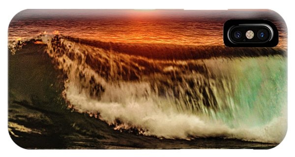 Ahh.. The Sunset Wave IPhone Case