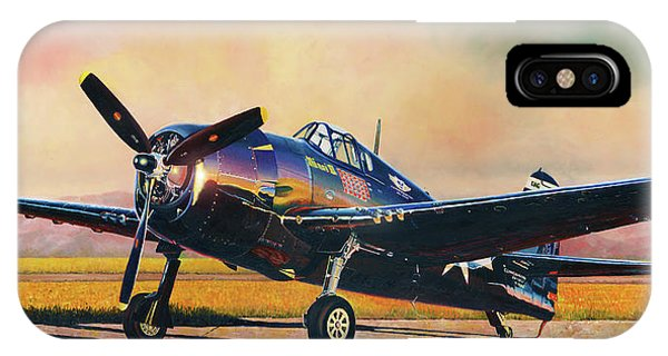 Airshow Hellcat IPhone Case