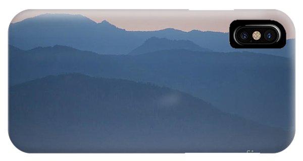 Alaska Inside Passage Mountains IPhone Case