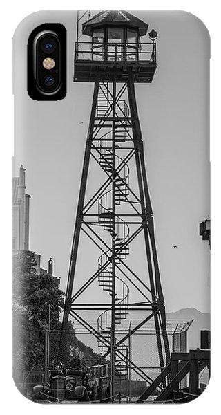 Alcatraz Light House IPhone Case