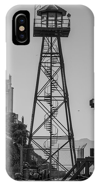IPhone Case featuring the photograph Alcatraz Light House by Stuart Manning