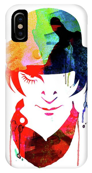 Film iPhone Case - Alex Watercolor by Naxart Studio