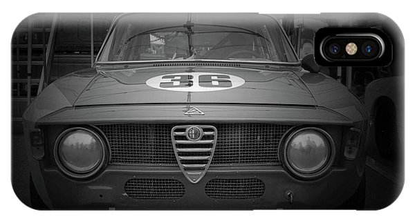 Monterey iPhone Case - Alfa Laguna Seca by Naxart Studio