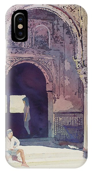 Palace iPhone Case - Alhambra Muse by Jenny Armitage