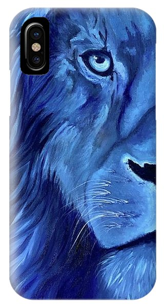 Fairness iPhone Case - Alice B Landrum Lion by Althia Prinsloo
