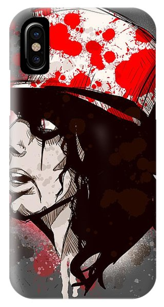 Alice Cooper iPhone Case - Alice by Ludwig Van Bacon