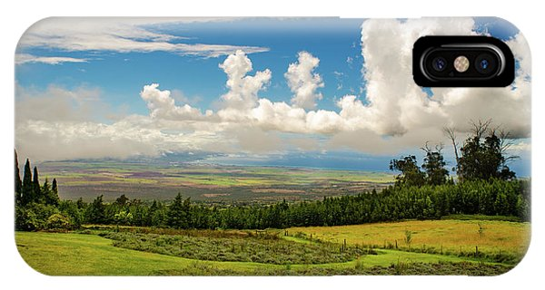 IPhone Case featuring the photograph Alii Kula Lavender Farm by Jeff Phillippi
