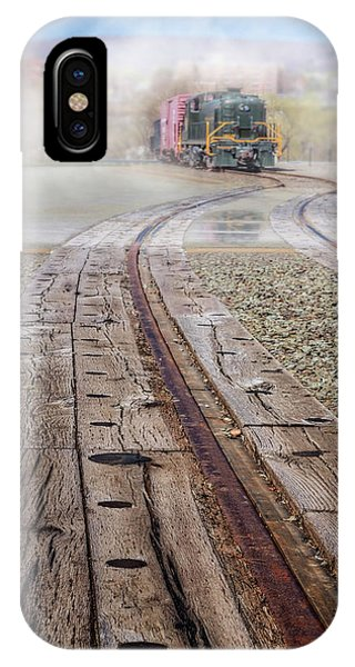 iPhone Case - All Aboard The 467 Reading Train by Susan Candelario