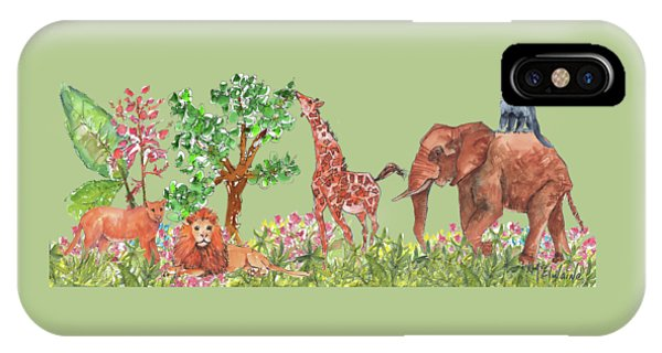 All Is Well In The Jungle IPhone Case