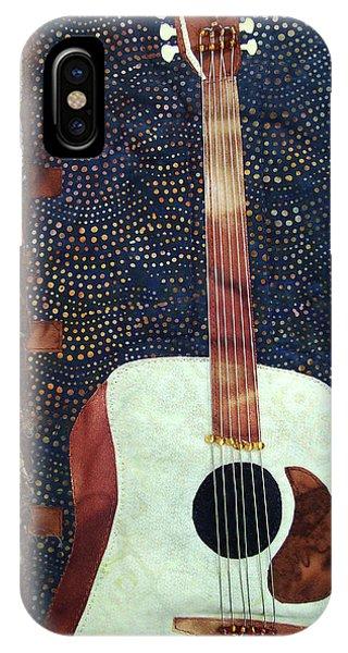 All That Jazz Guitar IPhone Case