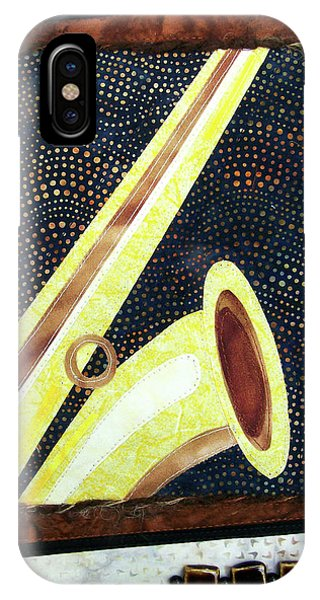 All That Jazz Saxophone IPhone Case