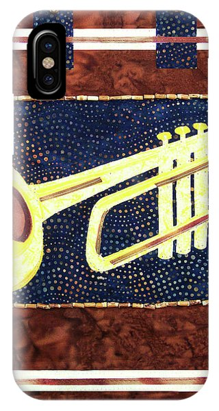 All That Jazz Trumpet IPhone Case