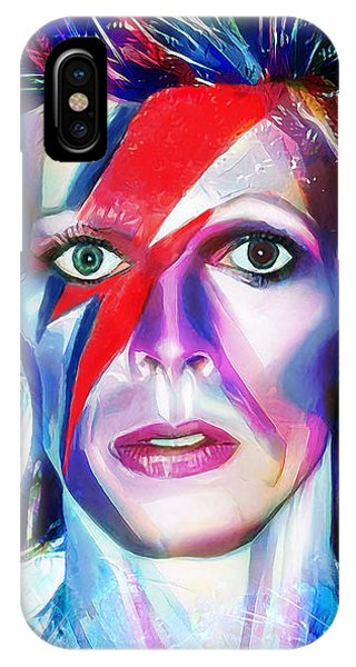 Aladdin Sane IPhone Case