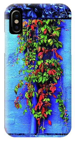 IPhone Case featuring the mixed media Alley-wall Paradise by Aberjhani