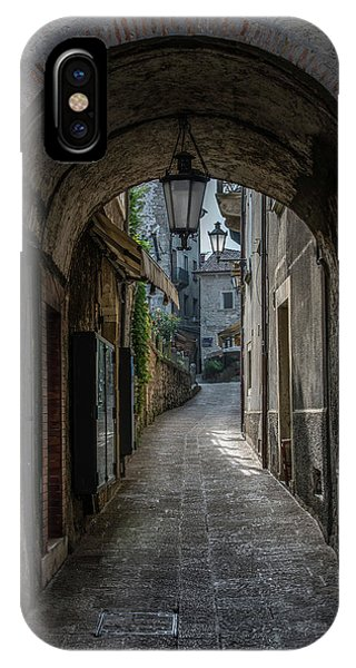 iPhone Case - Alleys Of San Marino by Jaroslaw Blaminsky