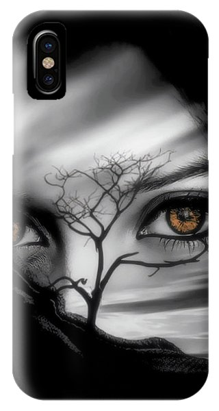 IPhone Case featuring the digital art Allure Of Arabia by ISAW Company