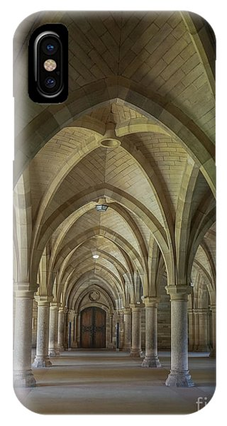 Along The Cloisters IPhone Case