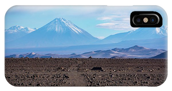 Along The Inca Trail In The Atacama Desert IPhone Case