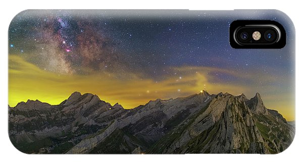 Alpstein Nights IPhone Case
