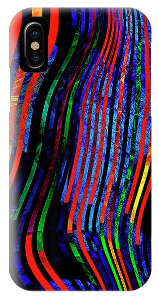 IPhone Case featuring the digital art Always Between The Lines by Edmund Nagele