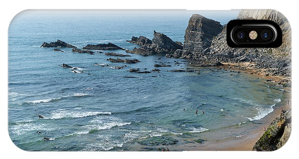 Amalia Beach From Cliffs IPhone Case